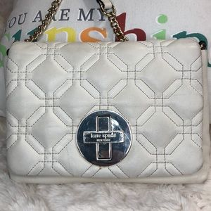KATE SPADE CROSSBODY COW LEATHER BAG